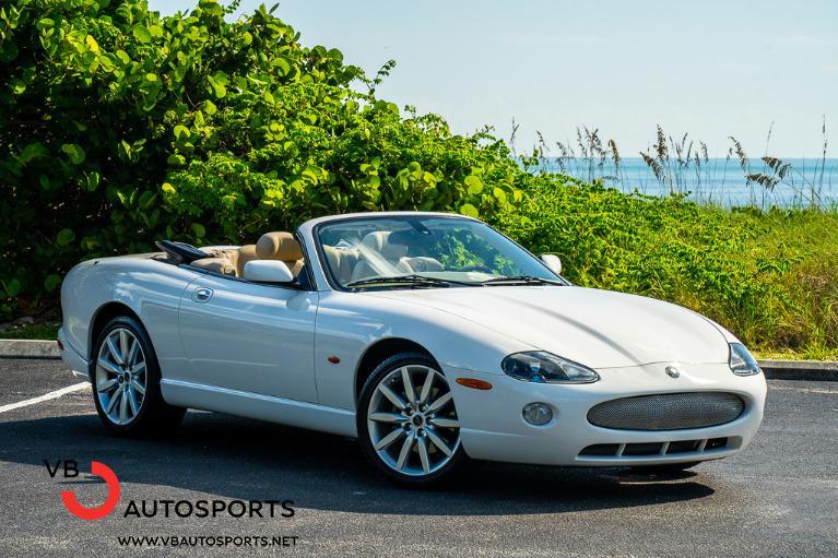 Used 2005 Jaguar XK-Series XK8 for sale $24,900 at VB Autosports in Vero Beach FL