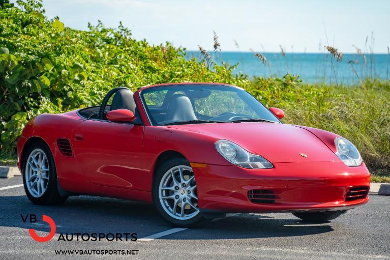 Used 2003 Porsche Boxster for sale $24,900 at VB Autosports in Vero Beach FL